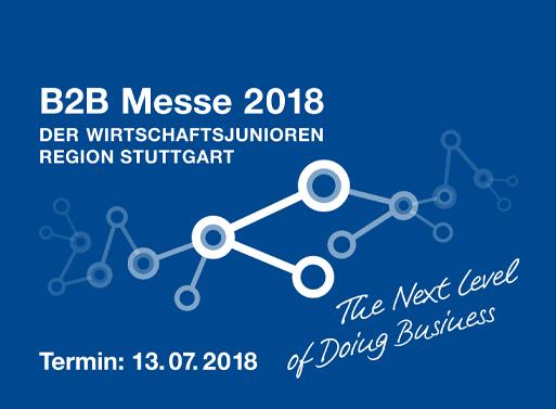 Info Flyer B2B-Messe